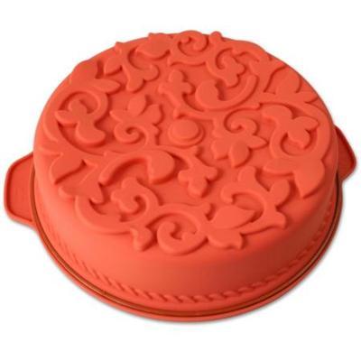 Image du produit ScrapCooking® - Moule silicone - Gateau rond - 26 cm - Rouge
