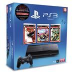 Console PS3 Ultra Slim 12 Go Sony + Uncharted 1 Gamme Essentiels + Little Big Planet + God Of War III ? Console Playstation 3 Sony