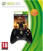Manette Xbox 360 sans fil noire ? Manette Xbox 360 noire Microsoft + Gears of War Judgment
