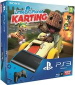 Console PS3 Ultra Slim 12 Go Sony + Little Big Planet Karting ? Console Playstation 3 Sony