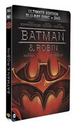 Batman &amp; Robin - Combo Blu-ray + DVD - &#201;dition bo&#238;tier SteelBook (Blu-Ray)