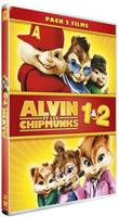 Alvin et les Chipmunks 1 & 2 - Pack 2 films (DVD)