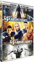 Les 4 fantastiques + Les 4 fantastiques et le Surfer d&#39;Argent - Pack 2 films (DVD)