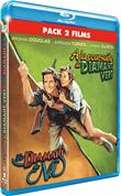 A la poursuite du Diamant Vert + Le diamant du Nil - Pack 2 films (Blu-Ray)