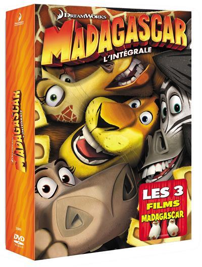 Madagascar - la Trilogie  [TRUEFRENCH] [DVRIP] [AC3]