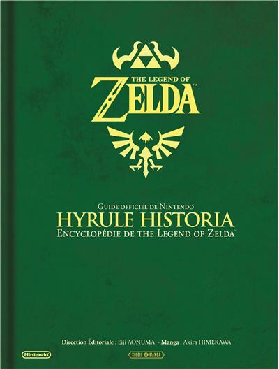 Couverture d'Hyrule Historia chez FNAC