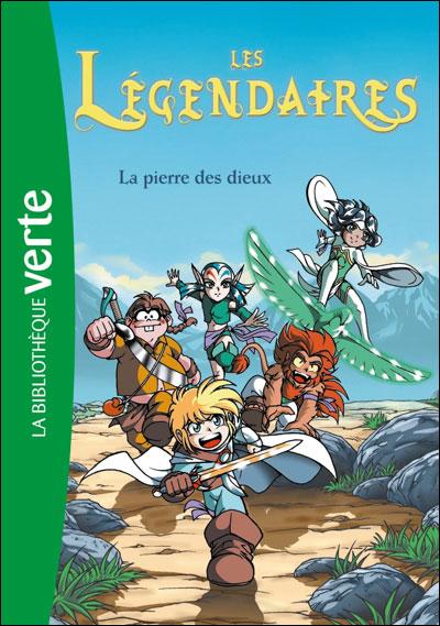Les Legendaires A La Bibliotheque Verte Les Legendaires Fan