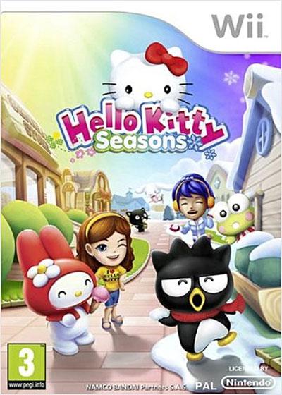 Hello Kitty saisons  dans les meilleurs jeux de wii 3391891954211