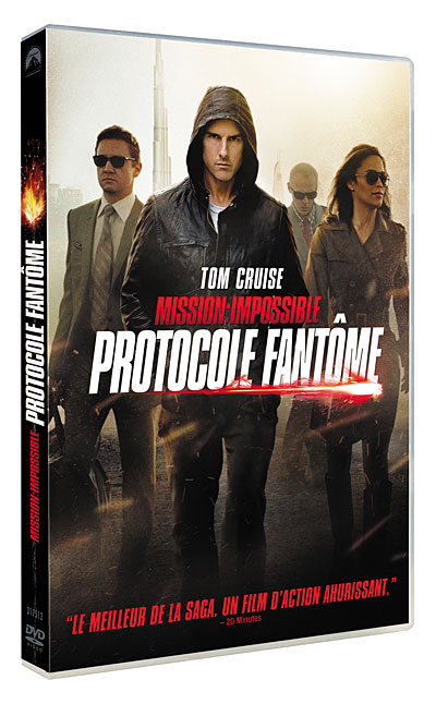 Mission : Impossible - Protocole fantme | Multi | DVDRiP | 2011  | Lien Rapide