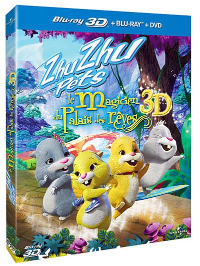 Zhu Zhu Pets, le Magicien du Palais des Rêves 3D
