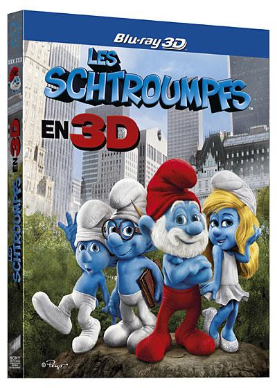 Les Schtroumpfs | Multi | Blu-Ray 3D | 2011