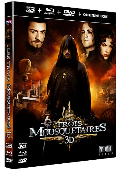 Les Trois Mousquetaires 2011 [3D] ANAGLYPHE AC3 5.1 [TRUEFRENCH] [Bluray 1080p] [UL]