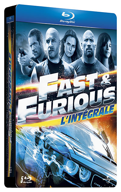 Fast and Furious - L'intégrale [BluRay 720p] [MULTI]