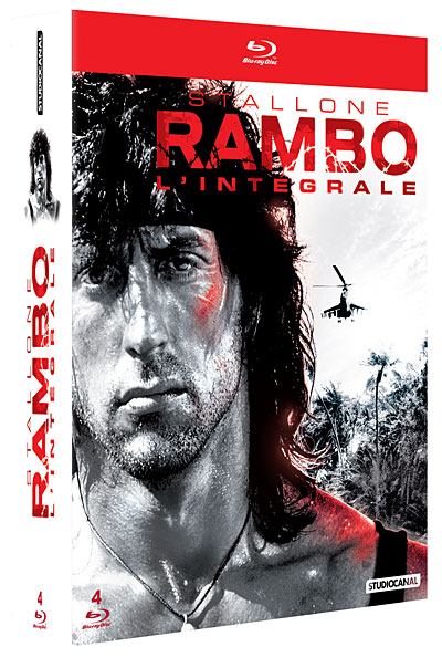 Coffret Rambo - L'intégrale - 4 Films   [BluRay 720p] [FRENCH]