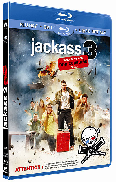Jackass 3D UNRATED |FRENCH| 720p (Exclue) [UD]