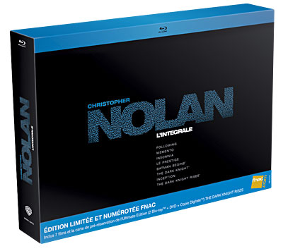 Coffret FNAC Christopher Nolan :  20/07/12 5051889286783