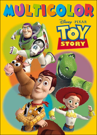 Toy story  multicolor