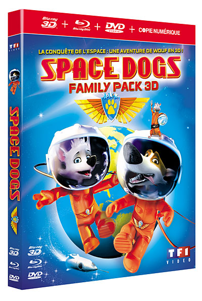 Space Dogs [FRENCH BLURAY 1080p 3D]