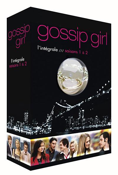 Coffret saisons 1 et 2 de la série Gossip Girl!