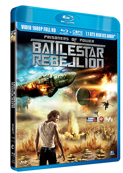 Prisoners of Power : Battlestar Rebellion   [DVDRIP] [FRENCH] RG