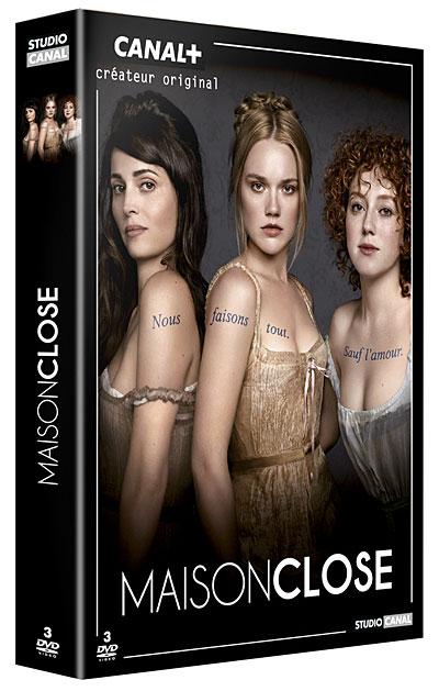 Maison Close saison 1 en DVD!
