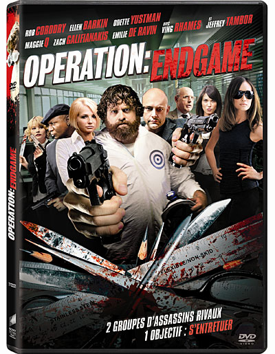 Operation Endgame [DVD-R] [PAL] [FS]  (exclue)