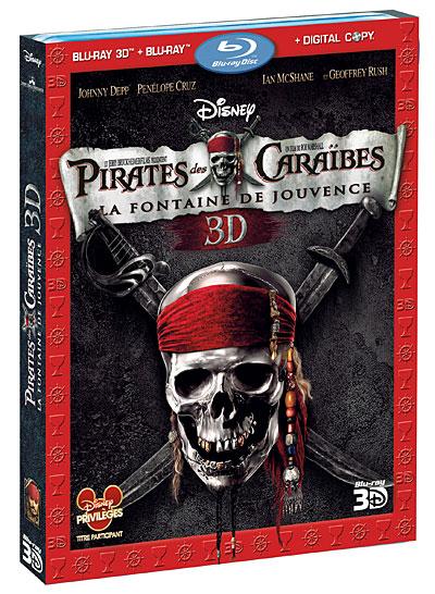 Pirates des Caraïbes : la Fontaine de Jouvence 3D