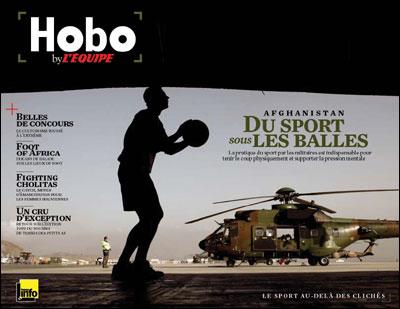 Le Blook Hobo, du magazine L'Equipe