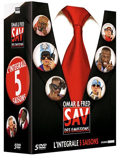 Omar & Fred - SAV des émissions - Intégrale 5 saisons