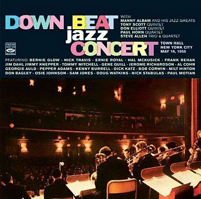 Down Beat Jazz Concert 1958