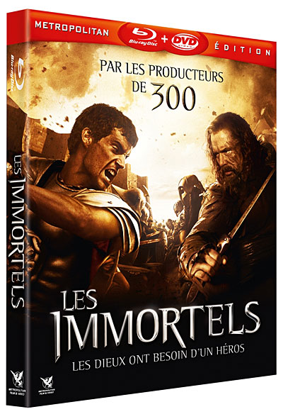 Les Immortels 2011 [BDRIP] [AC3] [VOSTFR]  [UL-]