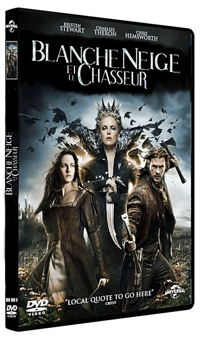 Blanche-Neige et le chasseur [DVD-R]