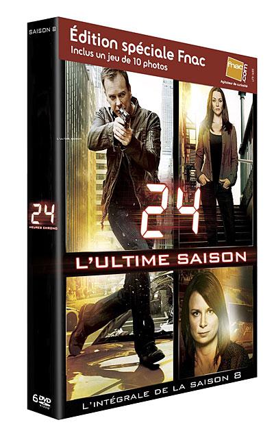 24 heures chrono : Saison 8 en DVD!