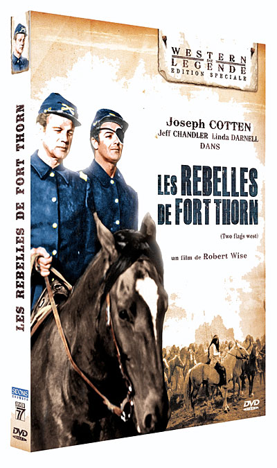 Les Rebelles de Fort Thorn - Two Flags West - 1950 - Robert Wise 3512391765378