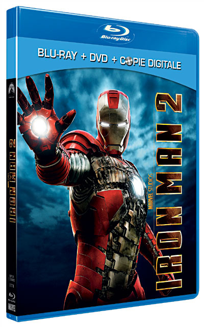 Iron Man 2 en Blu-ray!