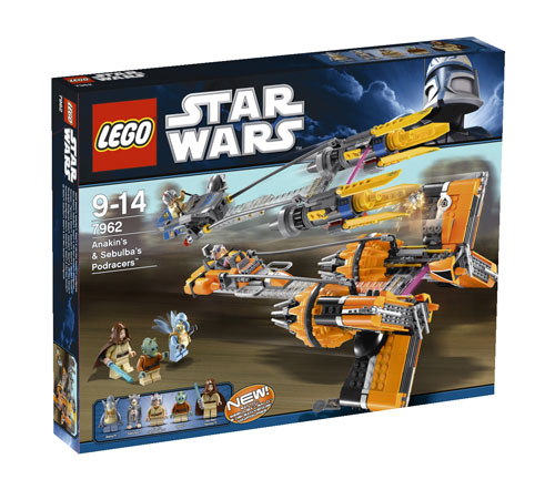 Lego star wars 7962 anakin 39 s sebulba 39 s podracers - Lego star wars vaisseau anakin ...