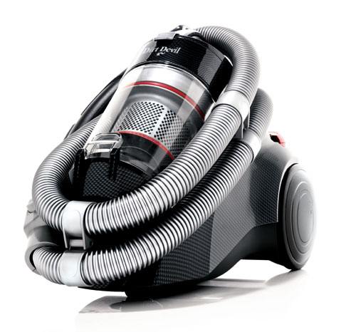 Dirt Devil - M 5038-1 - Inifinity VS8 Loop - Carbon/Rouge Métallic - Aspirateur sans sac