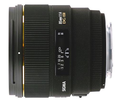 Sigma 85mm F1.4