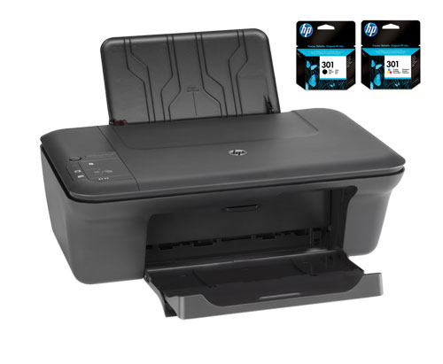 hp deskjet 2050 cartouche hp 301 noir et couleur. Black Bedroom Furniture Sets. Home Design Ideas