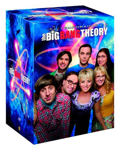 Pack big bang theory temporadas 1 8 en comprar for Decoracion piso big bang theory