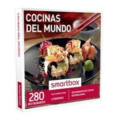 smartbox pack experiencia cocinas del mundo 2016 varios