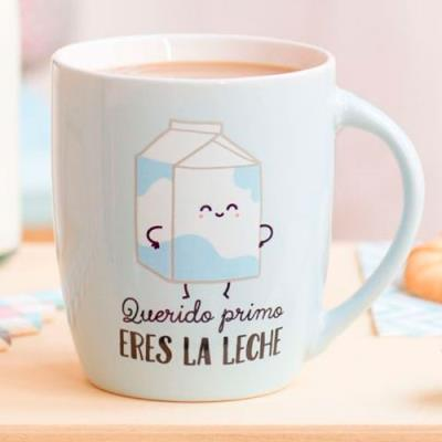 Taza mr wonderful querido primo eres la leche comprar for Decoracion tazas mr wonderful