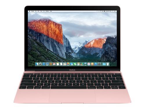 Ofertas portatil Apple MacBook 12'' 512 GB oro rosa