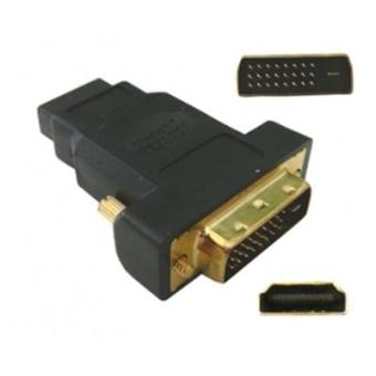 adaptateur hdmi 19 f vers dvi 24 1 m prise hdmi femelle. Black Bedroom Furniture Sets. Home Design Ideas
