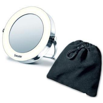 Miroir grossissant et lumineux de poche bs29 achat for Miroir grossissant lumineux