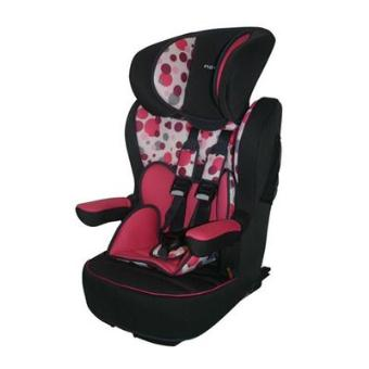nania si ge auto groupe 1 2 3 i max sp luxe isofix pink bubble achat prix fnac. Black Bedroom Furniture Sets. Home Design Ideas