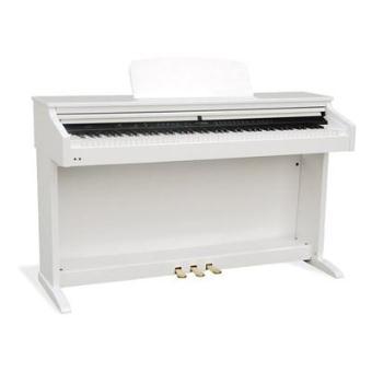piano num rique delson 8872 concerto plus blanc laqu top. Black Bedroom Furniture Sets. Home Design Ideas