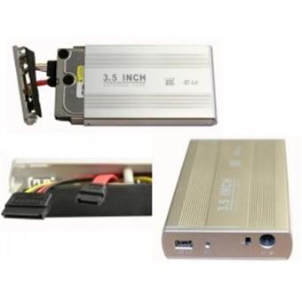 boitier externe pour disque dur sata 3 5 aluminium sata 3 5 achat prix fnac. Black Bedroom Furniture Sets. Home Design Ideas
