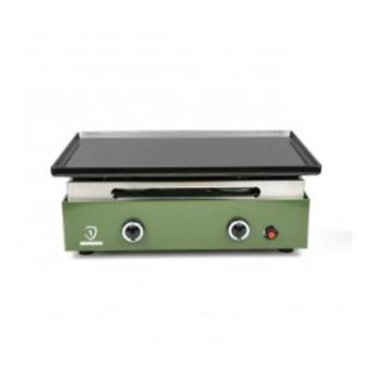 Verycook plancha au gaz plaque de cuisson en acier for Plancha en acier emaille