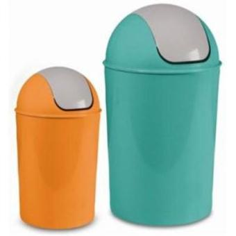 Ustensiles et accessoires de cuisine poubelle ronde for Accessoire poubelle cuisine